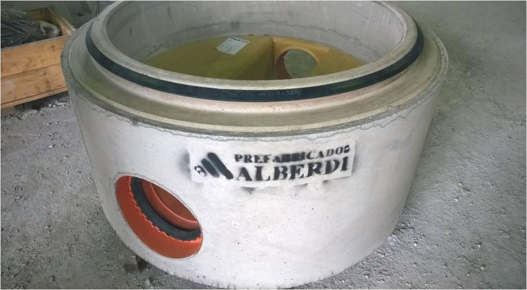 Pozo mixto Prefabricados Alberdi