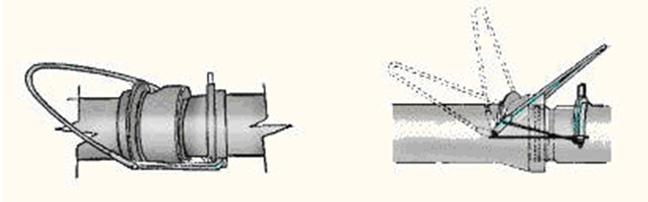 Suspensión de los tubos