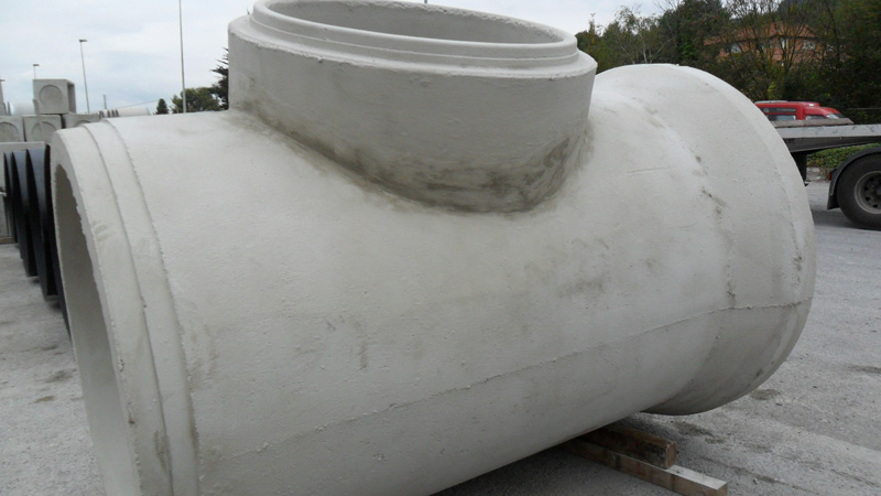 Concrete Pipe Tee : Tees prefabricados alberdi