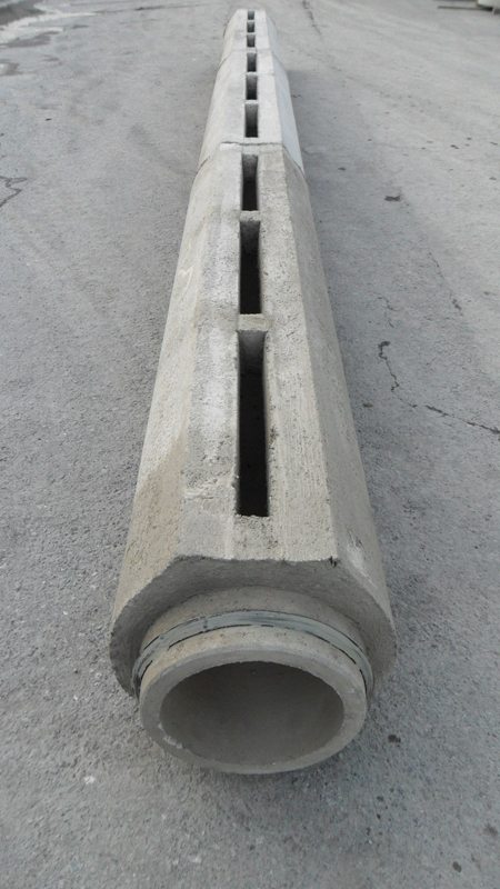 Channel Drainage For Patios: Novelty Linear Drainage Pipes. Prefabricados Alberdi