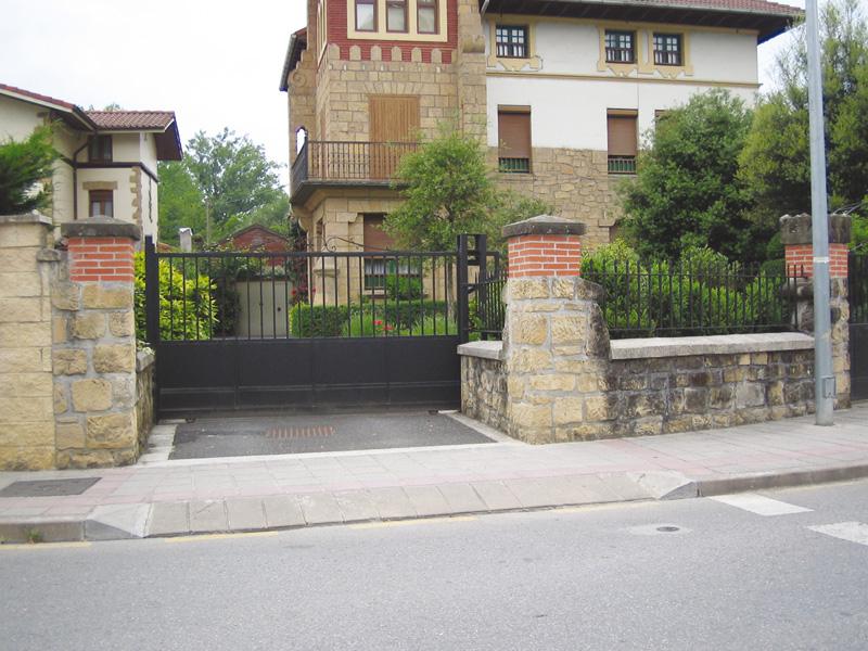 Bordillos para paso de vehículos