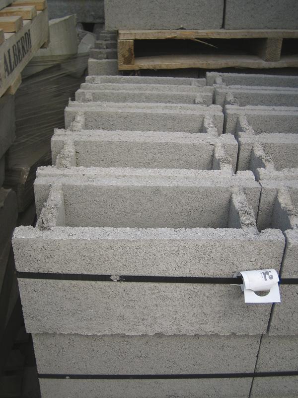 piezas especiales de bloques de hormigon